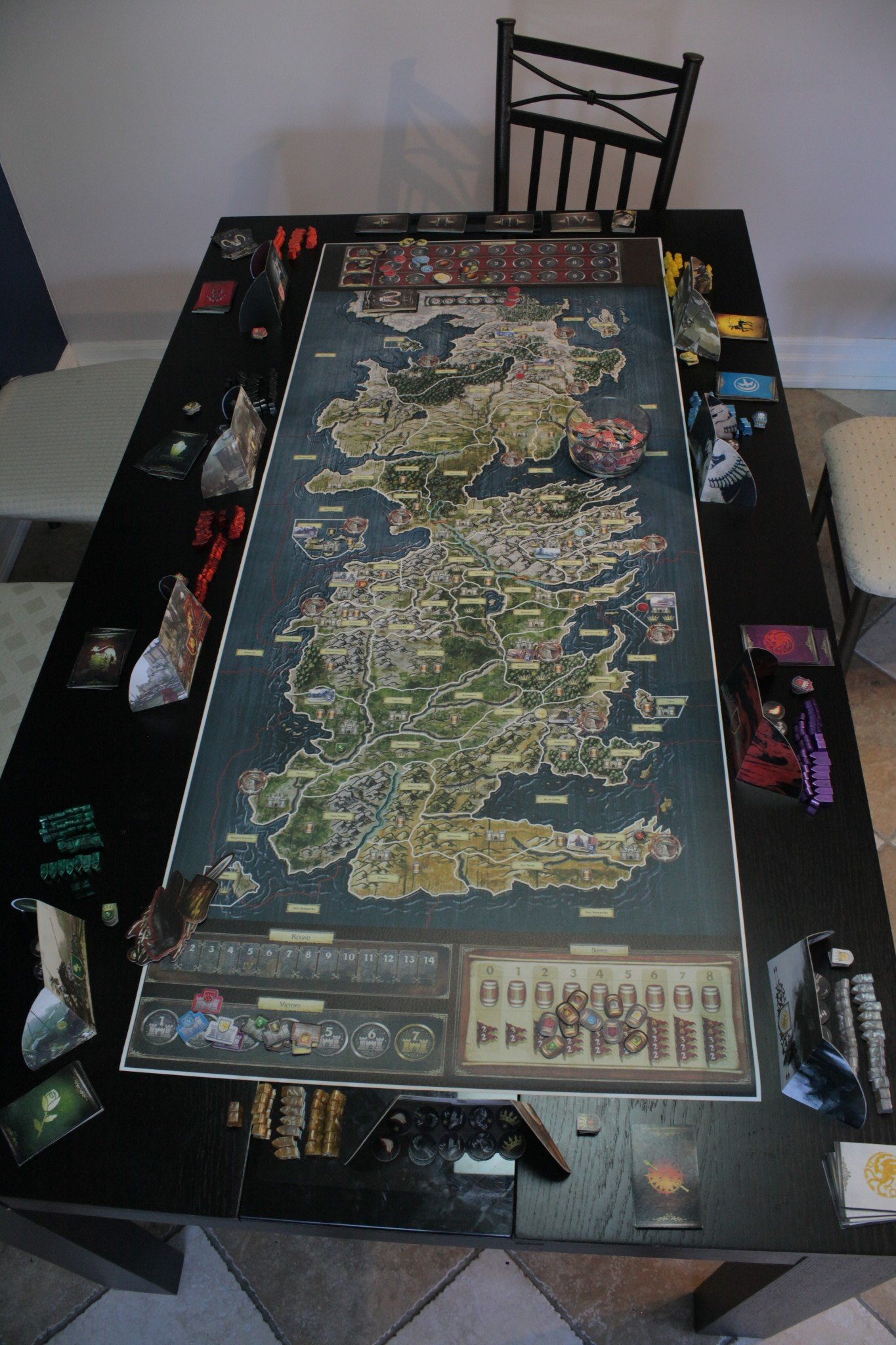 Board Game Expansions Initial Board Game Setup